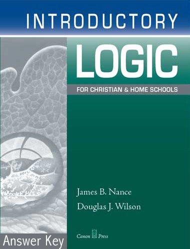 (Introductory Logic: Answer Key (4th)