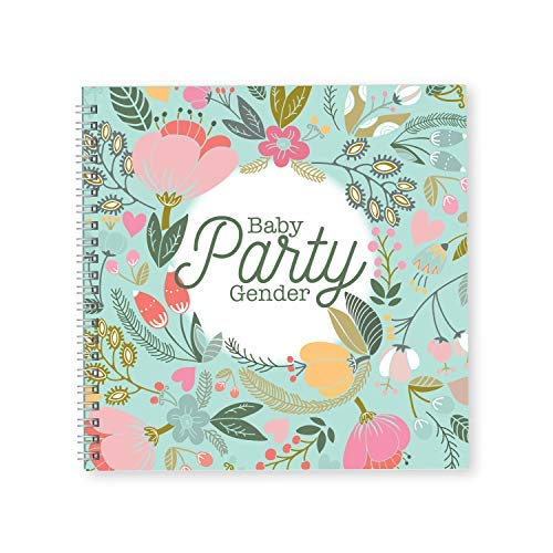 Gender Party Reveal Hardcover Planner and Journal | Pregnancy Gifts For First Time Moms | Expecting You A Keepsake Pregnancy Journal | Baby Memory Book | Baby tracker | Pregnancy Diary (Best Time For Pregnancy Photos)