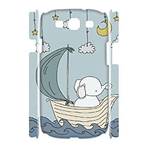 Elephants 3D-Printed ZLB612248 Personalized 3D Phone Case for Samsung Galaxy S3 I9300