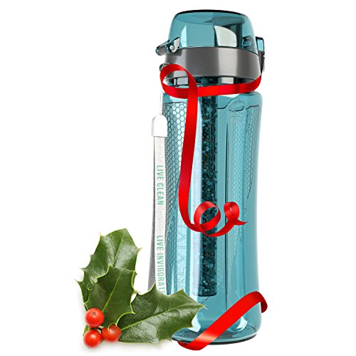 pH Revive Alkaline Water Filter Bottle & Carry Case
