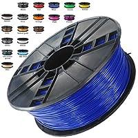 Melca 1.75 3D Printer Filament PLA 1kg +/- 0.03mm, Blue (#20214F) by Melca