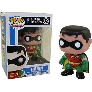 Amazon.com: Funko Robin Pop Heroes: Funko Pop! Heroes:: Toys ...