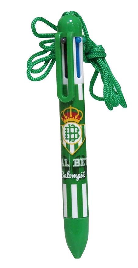 Real Betis Balompié- Bolígrafo 6 Colores, (CYP BSC-01-BT ...