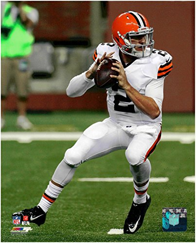 Johnny Manziel Cleveland Browns Unsigned Licensed Football Photo