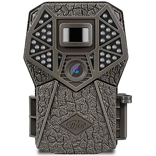 Outdoor Expert Trail Camera 20MP 1080P hunting Camera with 36pcs 850nm IR LEDs, Activated Night Vision 70ft PIR sense distance Digital Game Cam with LCD display for Wildlife Scouting and Home Security