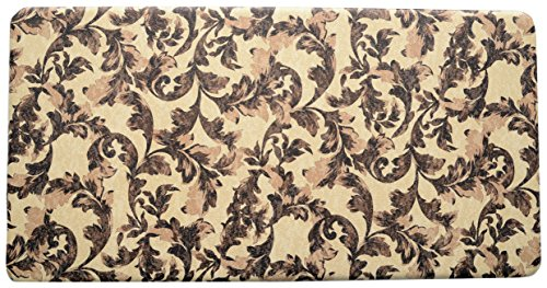 "Price comparison product image Stephan Roberts Premium Anti-Fatigue Kitchen Mat, 20"" x 39""x.5"", Roma/Multicolored"