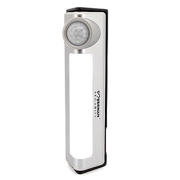 Cutowin - Detector de alarma con sensor de movimiento y luz nocturna (incluye sensor de
