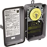 Intermatic T104R 208-277-Volt DPST 24 Hour Mechanical Time Switch with Outdoor Case