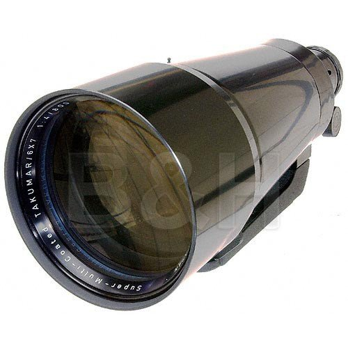 Pentax Super Telephoto 800mm f/4 Takumar Lens for Pentax 6x7