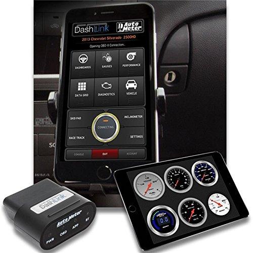 Auto Meter Obd-Ii Wireless Data Module Bluetooth Dashlink For Apple Ios Devices(6035)