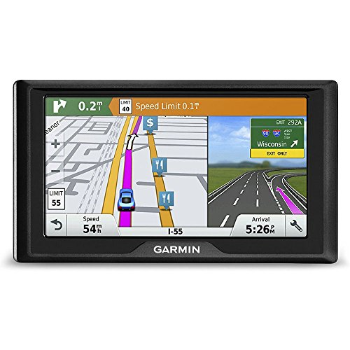 (Garmin Drive 60 USA LMT GPS Navigator System with Lifetime Maps and Traffic, Driver Alerts, Direct Access, and Foursquare data)