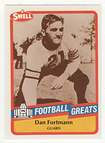 Dan Fortmann (Football Card) 1989 Swell Football Greats # 25 Mt