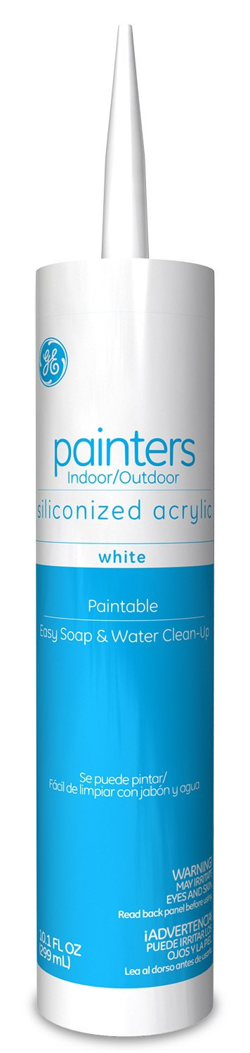 General Electric GE14449 Painters Siliconized Acrylic Caulk 10.1 Ounce White