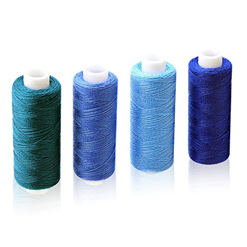 CiaraQ Sewing Threads Kits 30 Colors Polyester 250 Yards Per Spools for Hand & Machine Sewing