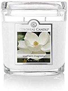 product image for Colonial Candle Southern Magnolia Jar Candle, 8 oz, White