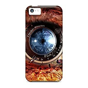 For Iphone 5c Phone Cases Covers(blue Eye)