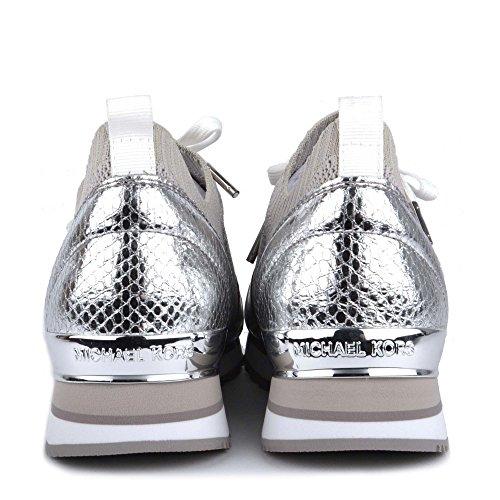 Michael Mujer Zapatillas Kors Zapatos by Michael Aluminio Billie Aluminum nR4qa5x0