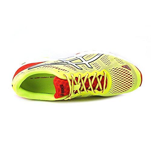 Asics Mens Gel-ds Trainer 19 Scarpa Da Corsa Flash Giallo / Argento / Rosso