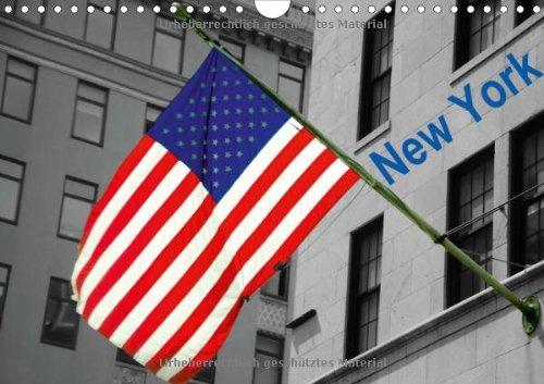 New York (Wandkalender 2014 DIN A4 quer): Brandaktuelle Bilder aus New York u.a. von: One World Trade Center, Rockefeller Center, Central Park, Times Square u.v.m. (Monatskalender, 14 Seiten)