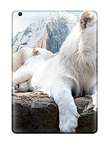 Alpha Analytical's Shop 5744747K42854474 Hot Snow Lion Tpu Case Cover Compatible With Ipad Air