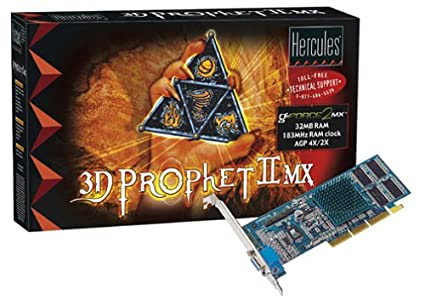 HERCULES 3D Prophet II MX PCI Drivers for Windows Download