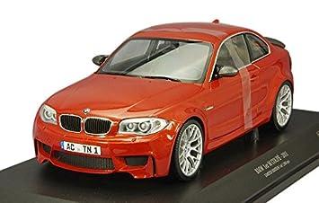 Minichamps 1:18 Scale 2011 BMW 1er M Coupe Car (Metallic Orange ...