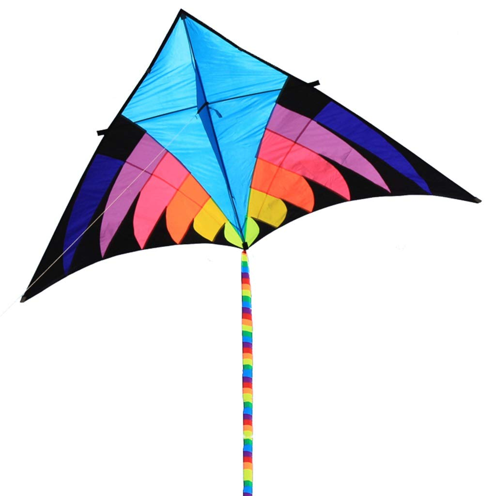 三角形の凧 B、飛ぶこと容易な大きい長い尾の屋外のそよ風の大人の子供公園の凧 (色、280 B07NVDQ81J* 140CM (色 : A) B07NVDQ81J B B, オールジュエリー:8a4664b6 --- ferraridentalclinic.com.lb