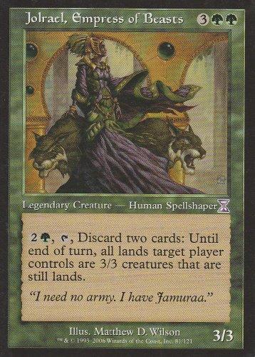 Jolrael, Empress of Beasts (Magic the Gathering : Time Spiral Timeshifted #81 Rare) (Time Spiral Timeshifted Magic)