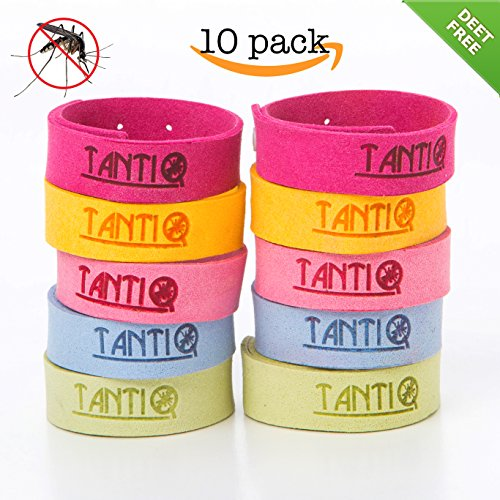 indoor mosquito repellent mosquito repellent bracelet 10 pack by tantiq safe 10659