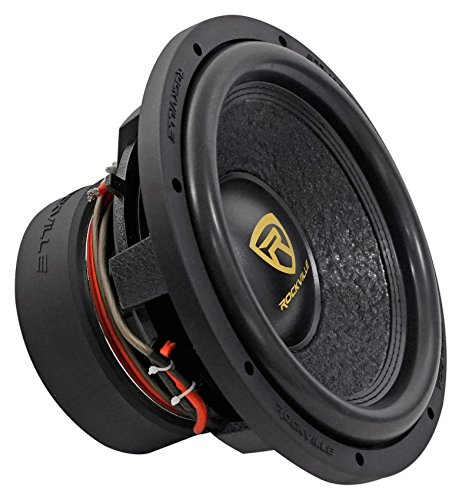 "Rockville W12K9D2 12"" 4000w Car Audio Subwoofer Dual 2-Ohm Sub CEA Compliant"