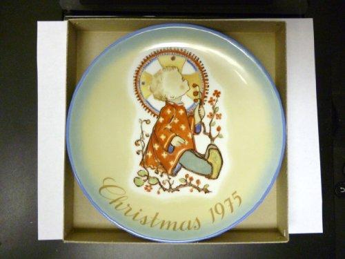 Schmid Hummel Christmas Plate - Berta Hummel Christmas Plate 1975