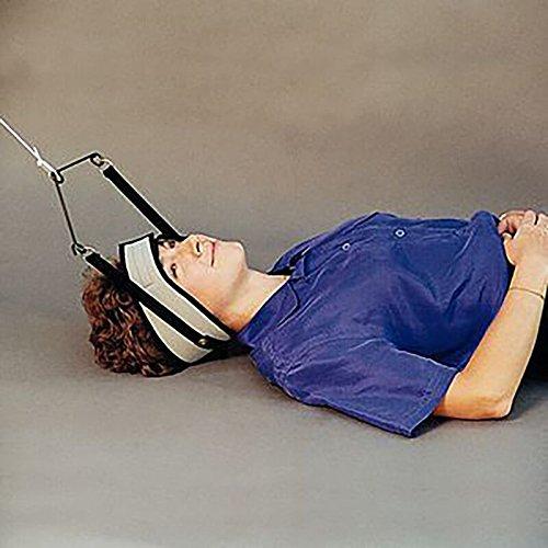 RangeMaster Supine C-Trax Over-door Cervical Traction Device (TMJ Halter) Choose Desired Head Halter Type ()