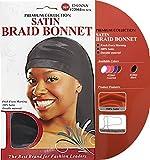 (US) Donna Collection Satin Braid Bonnet