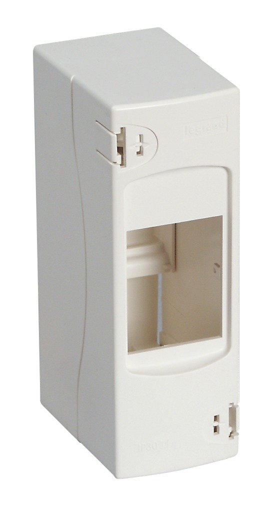 Legrand LEG92714 Ekinoxe Ekinoxe Ekinoxe - Carcasa cubrebornes (4 módulos), color blanco da3d21