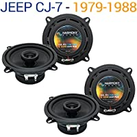 Jeep CJ-7 1979-1988 OEM Speaker Replacement Harmony Upgrade (2) R5 Package