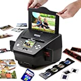 """NEW!SVP PS9700 Black(with 4GB) 3-in-1 Digital Photo/Negative Films/Slides Scanner with built-in 2.4 LCD Screen"""", Best Gadgets"""