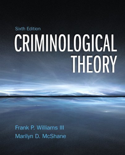 a summary of criminological theories Inclusion in journal of criminal law and criminology by an authorized administrator of northwestern university school of law scholarly commons recommended citation robert f meier, the new criminology: continuity in criminological theory, 67 j crim in summary form, the tasks of the new criminolo- gy have.