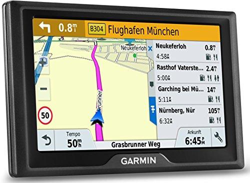 Garmin Drive 50 LMT EU Navigationsgerät (lebenslange Kartenupdates, Premium Verkehrsfunklizenz, 12,7cm (5 Zoll) Touchscreen)