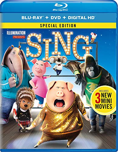 Sing [Blu-ray] (Best Of 3d Blu Ray Review)