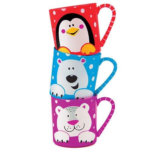 4 opinioni per Tazze Amici della neve in plastica (confezione da 3)