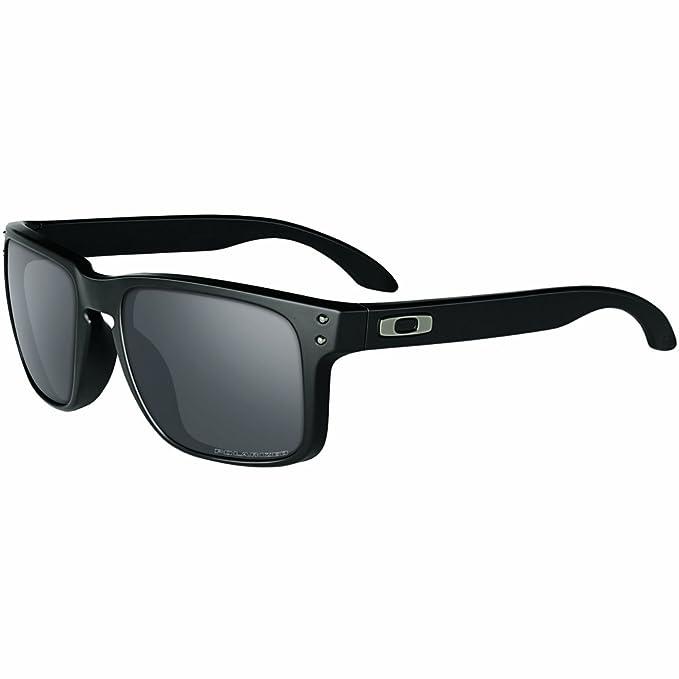 489367c7610e Oakley Holbrook Sunglasses, Matte Black, Black Iridium Polarized ...