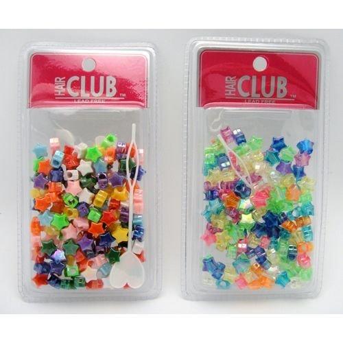 Hair Beads, Star 48 pcs sku# 893840MA
