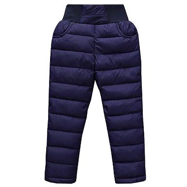 4fbf2fba1889e LSERVER Unisex Baby Girl Boy Down Cotton Ski Pant Kid Winter Warm Snow  Trousers Toddler Lightweight
