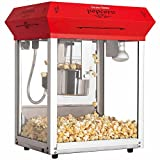 Bullseye Commercial 226.8 g (8 oz.) Popcorn Machine Countertop - Red