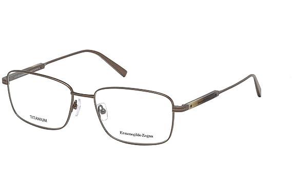 bd1e2e89a1 Amazon.com  Eyeglasses Ermenegildo Zegna EZ 5063 EZ 5063 034 shiny ...