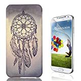 S5 Hard Case, Galaxy S5 Cases, Bonice [Relief Series] [PC Hard Protection] High Impact Ultra Slim Thin Pattern Protective Case for Samsung Galaxy S5 + Screen Protector - Dreamcatcher