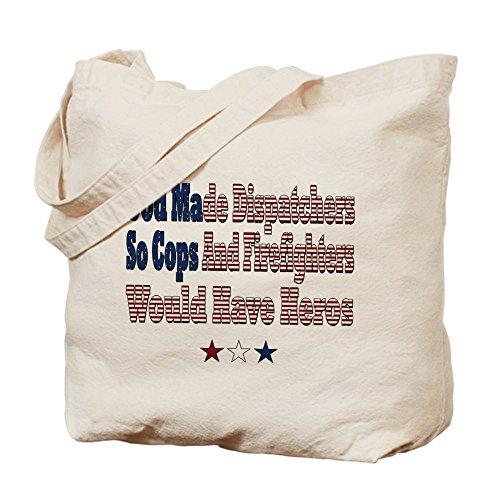 CafePress–Hero despachadores–Gamuza de bolsa de lona bolsa, bolsa de la compra