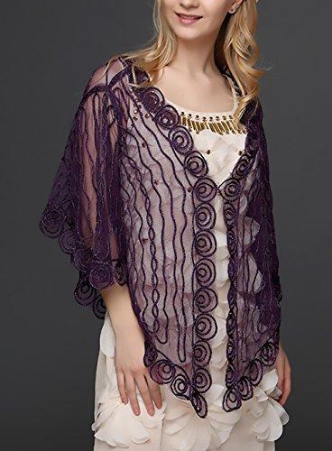 Abbigliamento Ragazza Donna Moda Vintage Corta Trasparente Manica grnqUTg