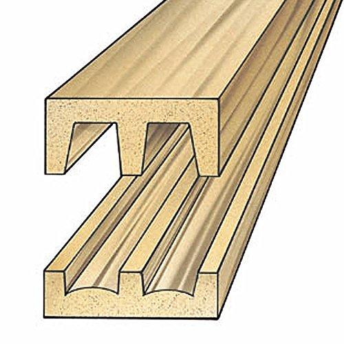 - Hardwood Sliding Door Track and Upper Guide (set)