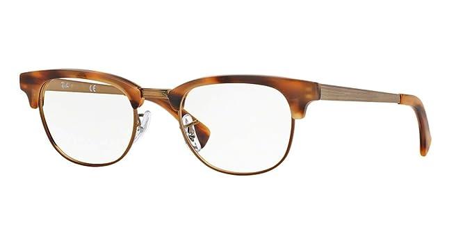 c545f603c3 Amazon.com  Ray-Ban RX5294 Clubmaster Eyeglasses-5429 Tortoise ...